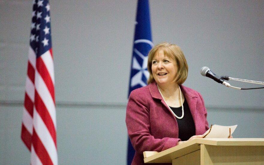 US Ambassador Anne Hall