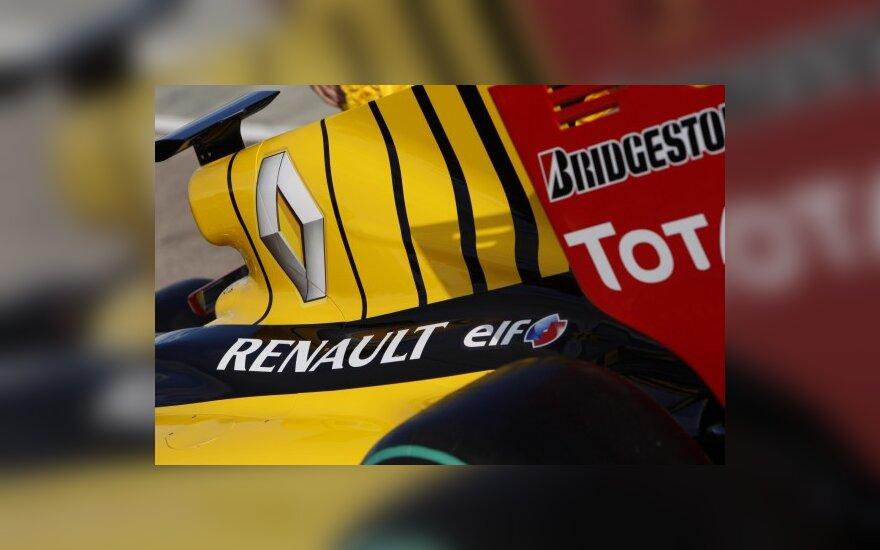 """""""Lada"""" - naujas """"Renault F1"""" komandos partneris"""