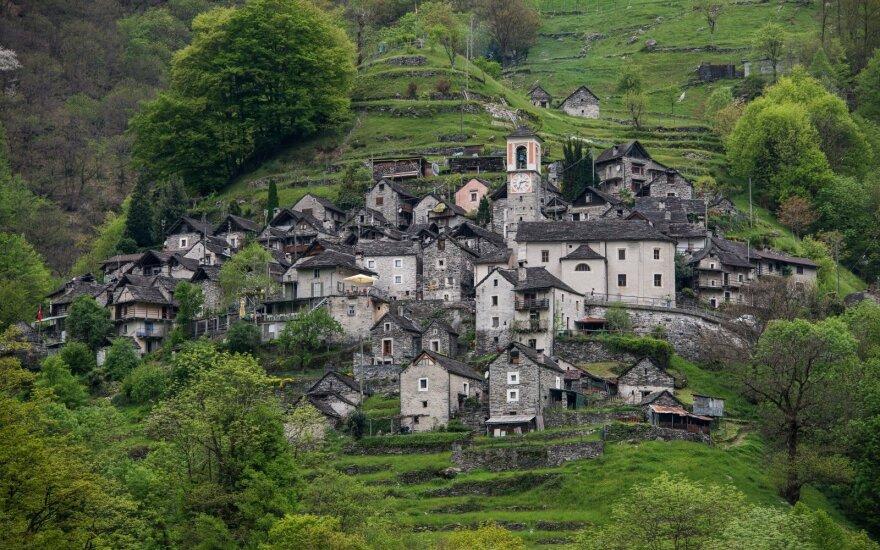 Koripo kalnų kaimelis