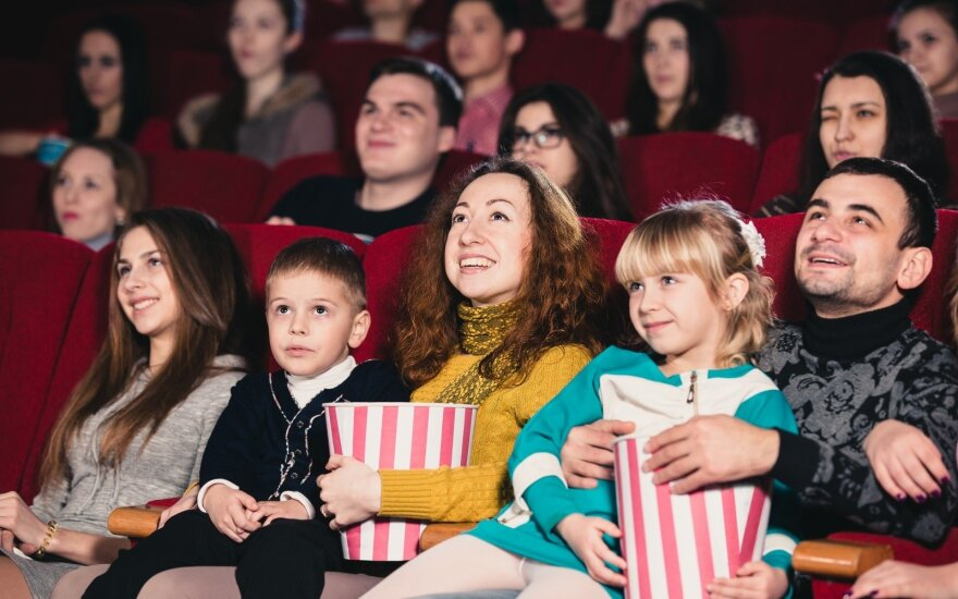 Cinema advertising in Lithuania grows 34 pct in 2017