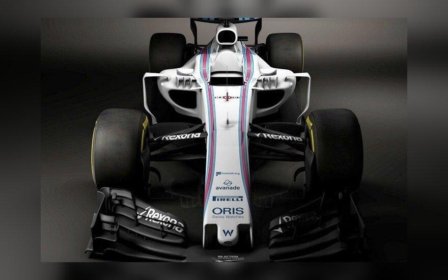 """Naujas F-1 """"Williams"""" komandos automobilis / Foto: """"Williams Racing"""""""