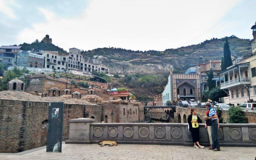 Tbilisio bruožas - sieros pirtys