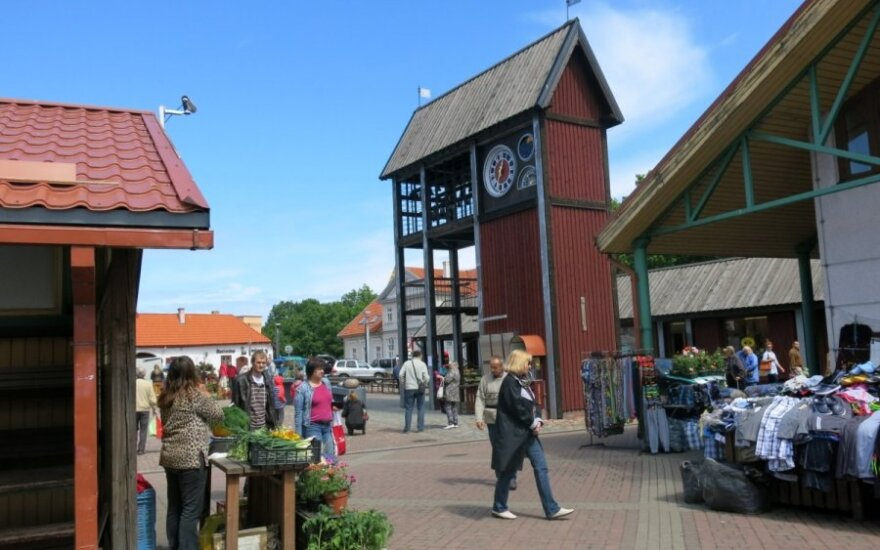 Market day in Ventspils
