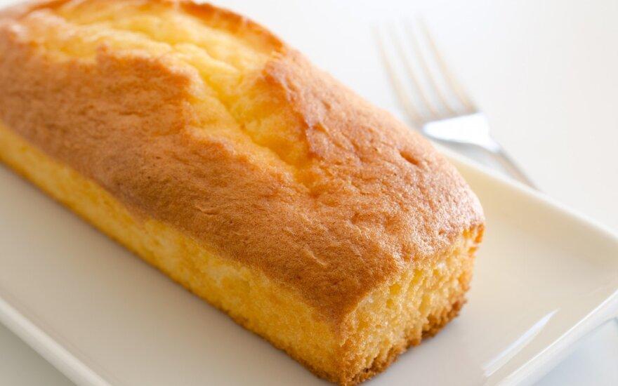 Prancūziškas citrininis keksas