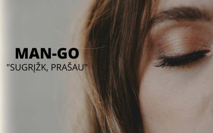 """""""Man-go"""" naujos dainos vizualizacija"""