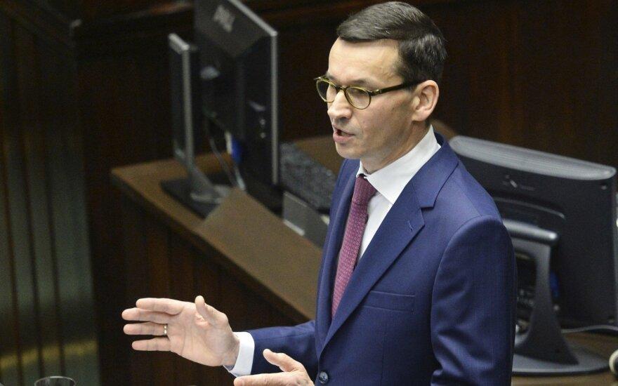 Lietuvos ir Lenkijos premjerai sutarė dėl bendrų energetikos projektų