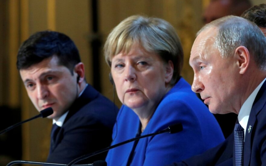 Merkel ir Putinas