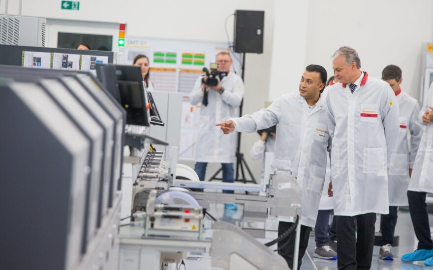 Pursuing investment: shrinking production in Germany brought new opportunities for Lithuania