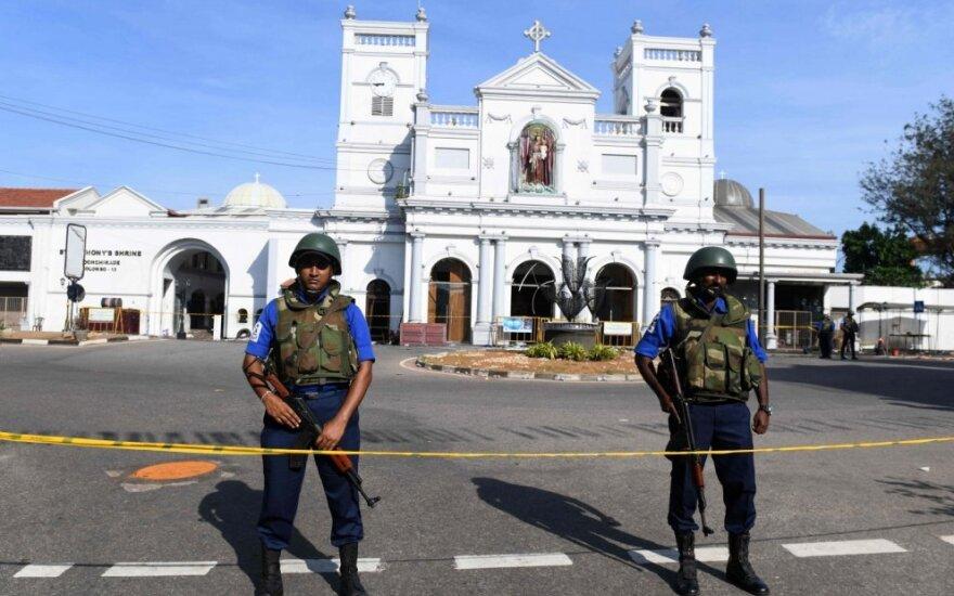 Šri Lanka po išpuolių per Velykas