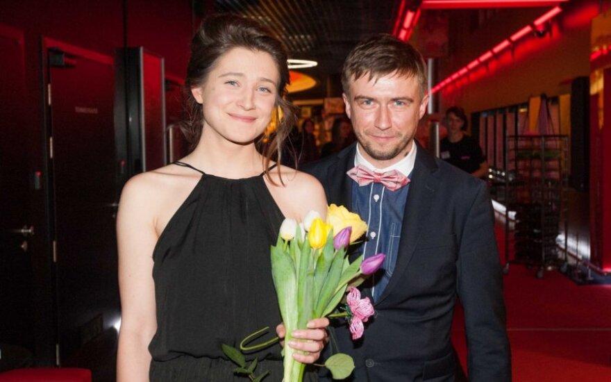Jurgita Jutaitė ir Marius Jampolskis
