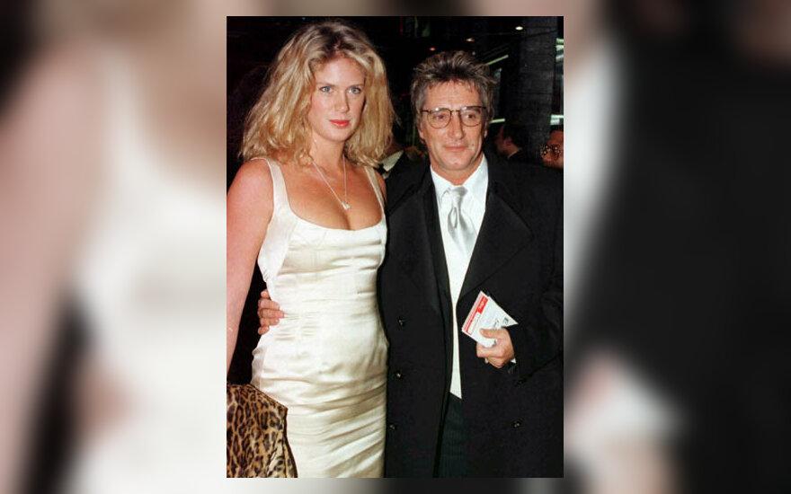 Rod Stewart su buvusia žmona