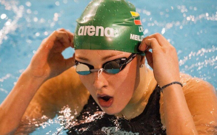 R. Meilutytė Šefilde kovos dėl dar trijų medalių