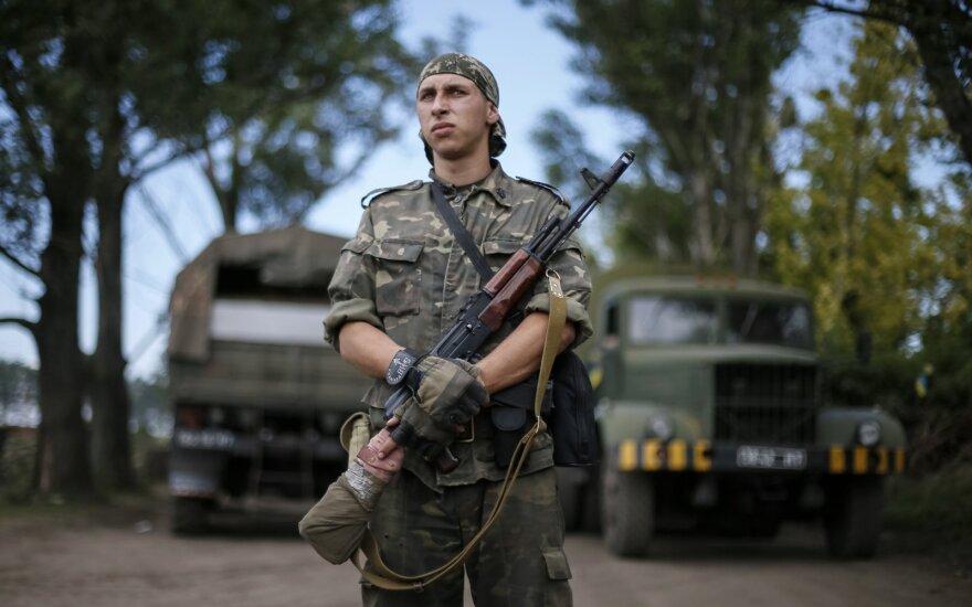 Atsargos generolas Vaikšnoras pataria Ukrainos gynybos reformų klausimais