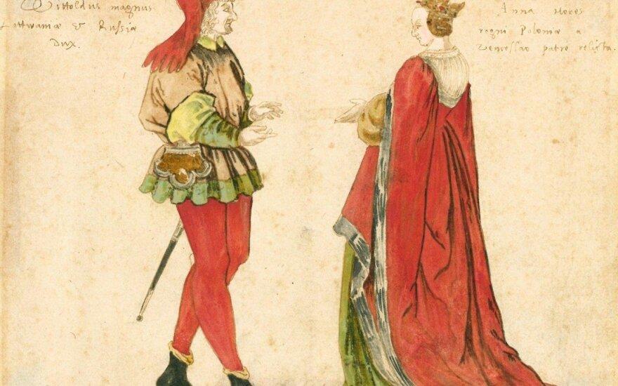 Vytautas Didysis ir Ona Vytautienė
