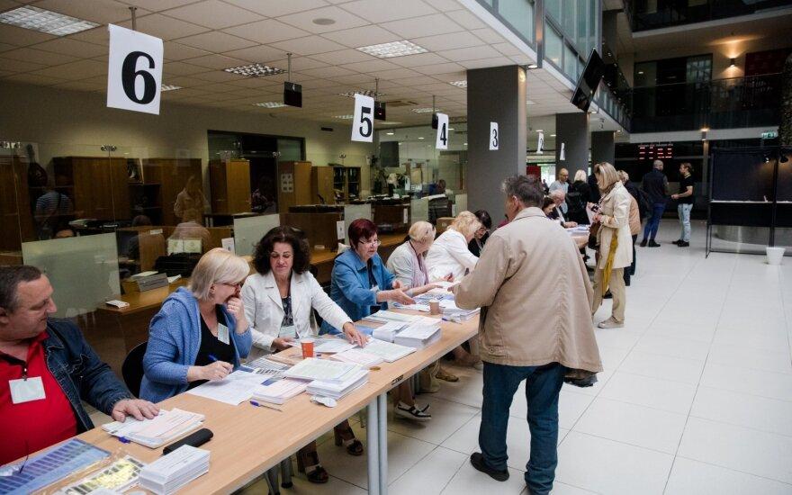 Antrajame prezidento rinkimų ture balsuojant iš anksto – didesnis aktyvumas