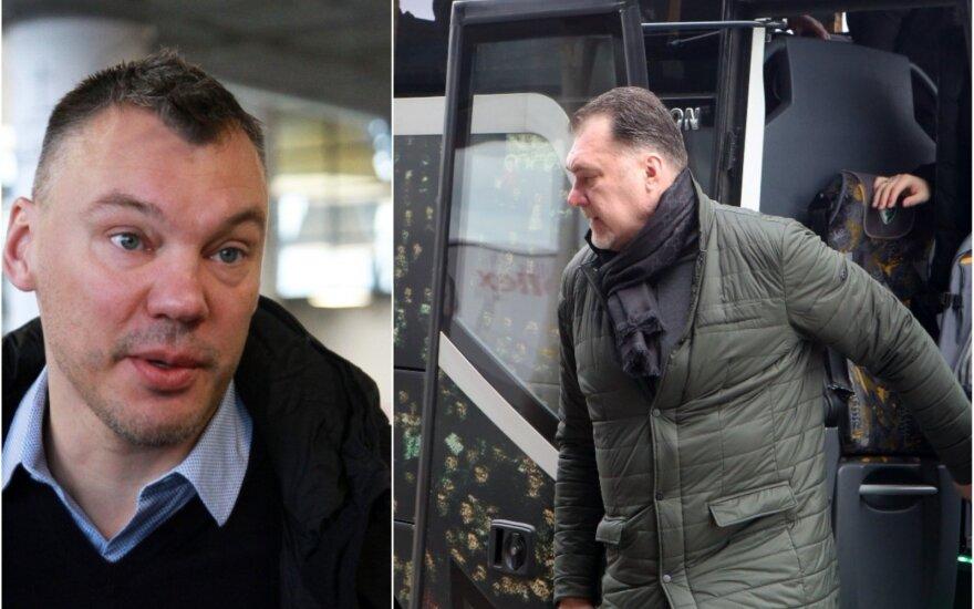 Šarūnas Jasikevičius, Arvydas Sabonis