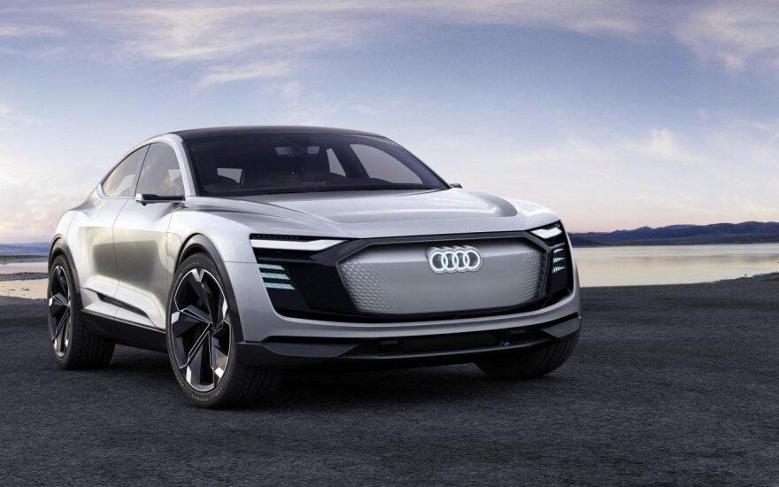 """Audi e-tron Sportback concept"""