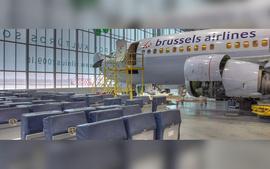 Už patogesnius skrydžius į Briuselį – milijonas eurų
