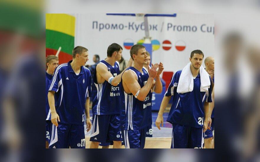 """Rusijoje """"Chimki"""" klubas sutriuškino """"Dinamo"""" ekipą"""