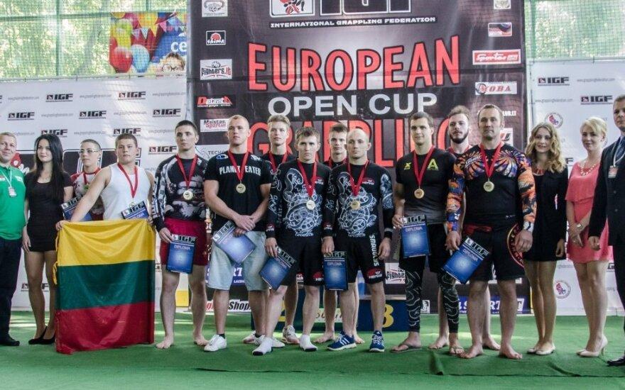 Lietuvių benefisas Europos graplingo taurės turnyre Lenkijoje