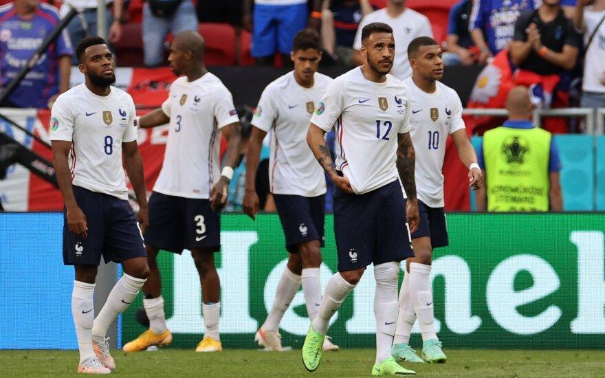 Euro 2020: Vengrija - Prancūzija