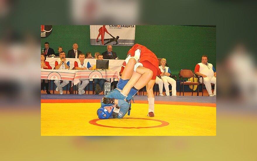Segejus Grečicho atlieka skausmingą veiksmą