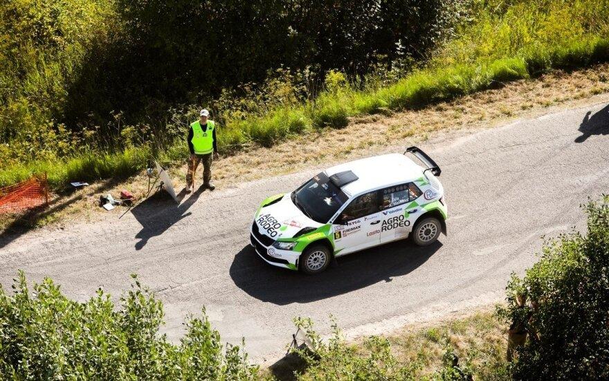 """""""Samsonas Rally Rokiškis 2018"""": finalas"""