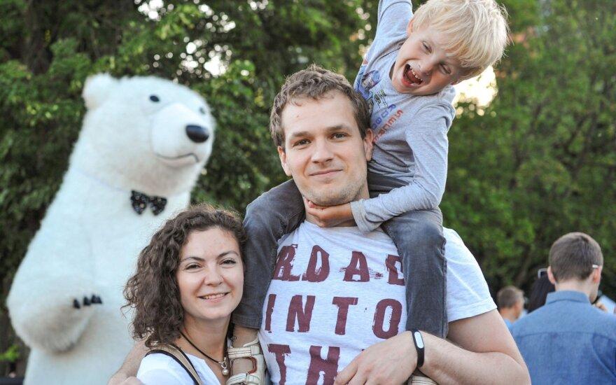 Sergejus Kolpakovas ir jo sutuoktinė Margarita
