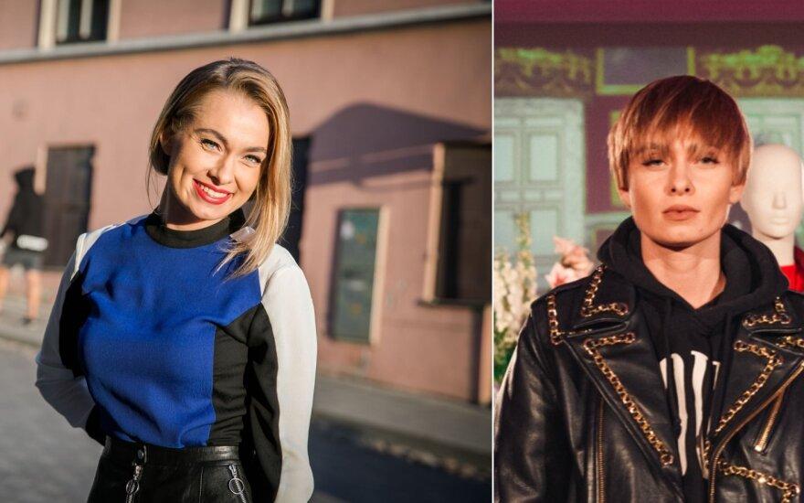 Ieva Stasiulevičiūtė, šukuosenos pokyčiai