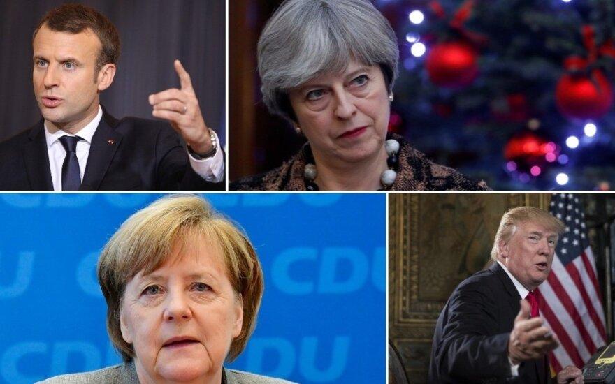 """""""Politico"""" paskelbė šių metų politikos laimėtojus ir pralaimėtojus"""