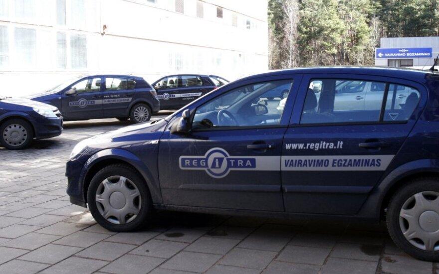 Regitra, vairavimo egzaminas