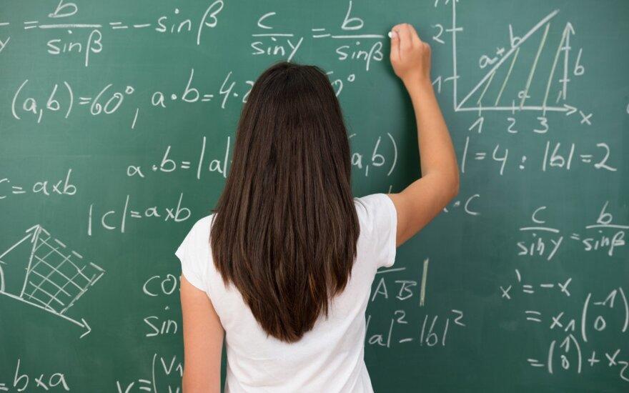 Pakruojo mokiniai pasipiktino: mums patiems tenka vesti matematikos pamokas