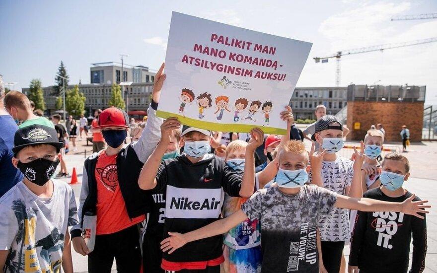 Nauja sporto salių nuomos tvarka sukėlė chaosą Vilniuje
