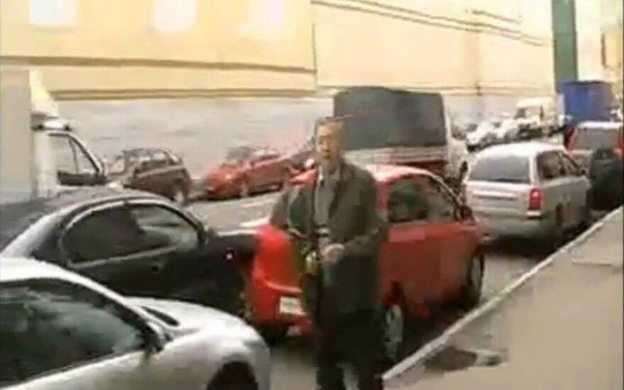 Piktas vairuotojas