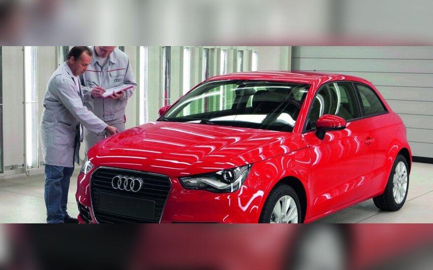 """""""Audi"""" nesiruošia gaminti mažesnio už A1 modelio"""