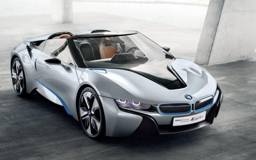 BMW i8 Spyder koncepcija