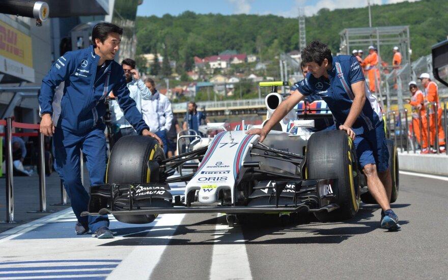 """Williams"" komandos automobilis"