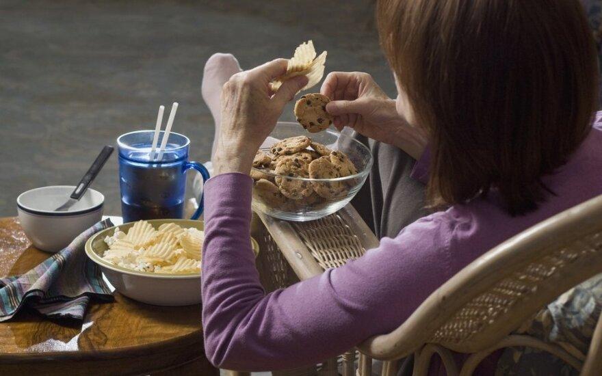 Menstruacijų cikle užkoduota valgymo sutrikimų grėsmė