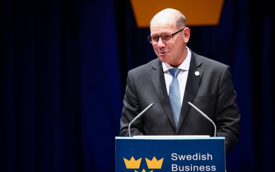 Urban Ahlin, Speaker of the Swedish Parliament at the Swedish Business Awards 2014