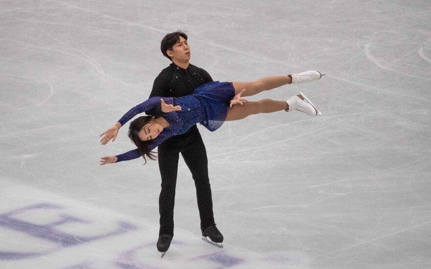 Pasaulio dailiojo čiuožimo čempionato auksas – kinams