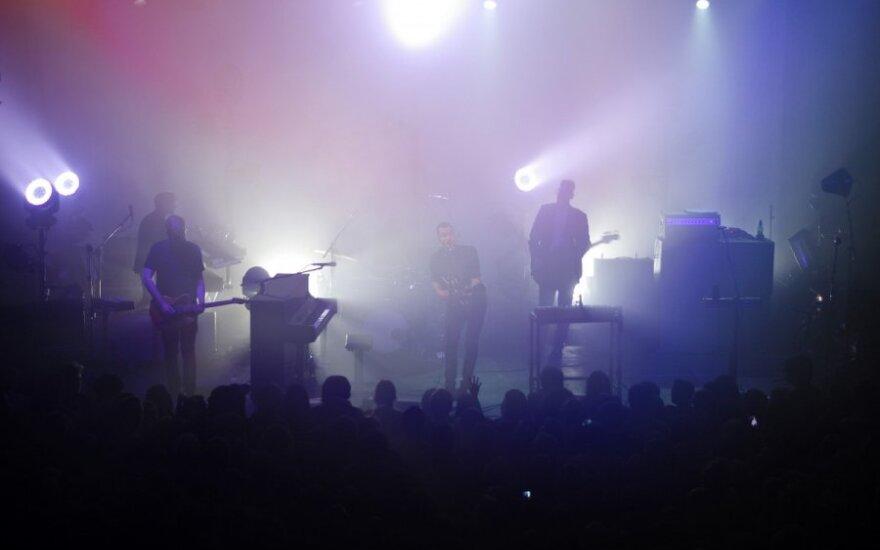 """""""Editors"""" koncerto Vilniuje akimirkos (J.Urbonavičiūtės nuotr.)"""