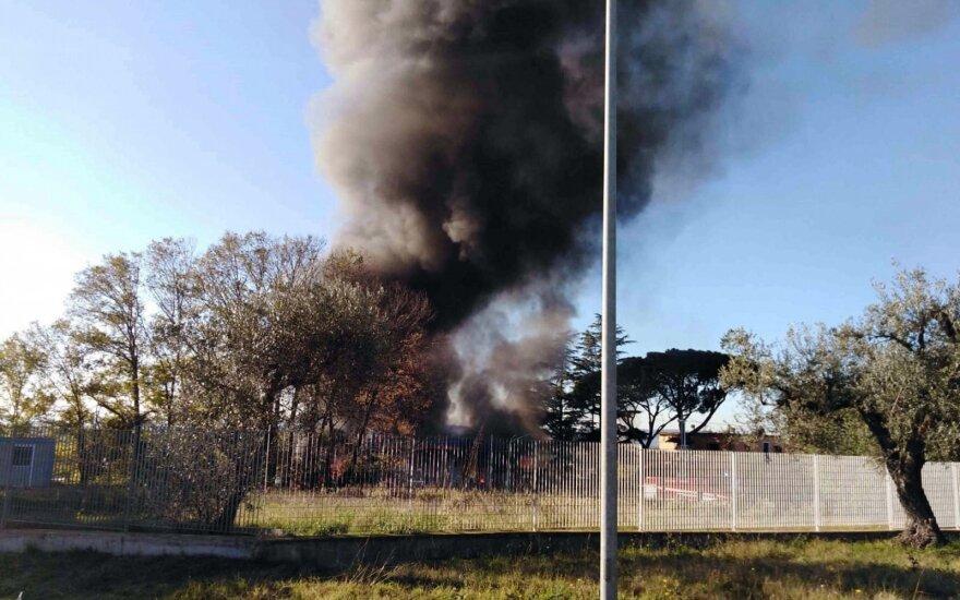 Romoje per sprogimą degalinėje žuvo du žmonės