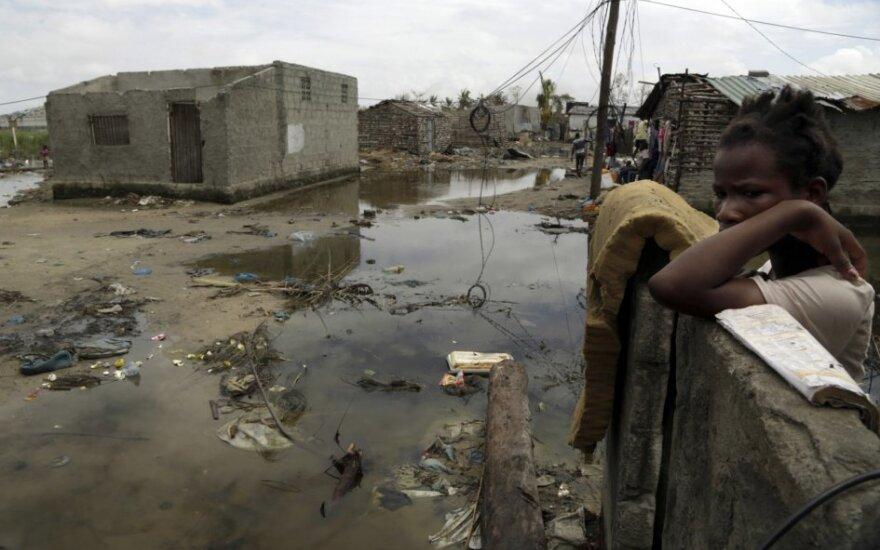 Mozambike užregistruota per 500 choleros atvejų, įskaitant pirmą mirties atvejį