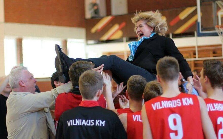 Onos Dindaitės-Mukienės komandos triumfas / Foto: VKM archyvas