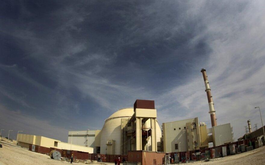 Iranui nepavyko sumažinti nerimo dėl galimos atominės bombos