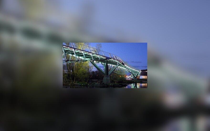 Naujas tiltas Alytuje