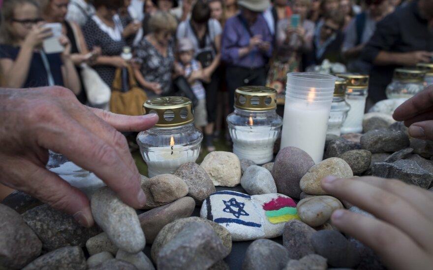 Holokausto aukų pagerbimas Lietuvoje
