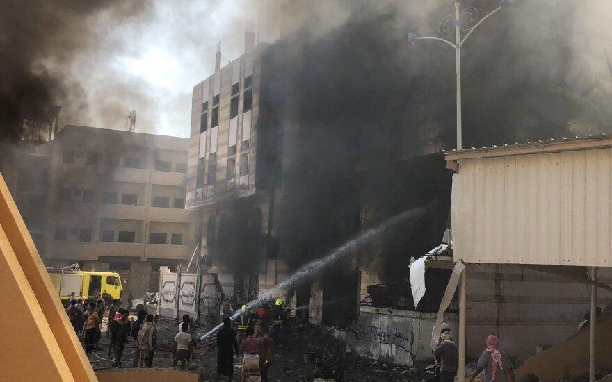 Jemeno vyriausybės tvirtovėje sprogus IS bombai žuvo 10 žmonių