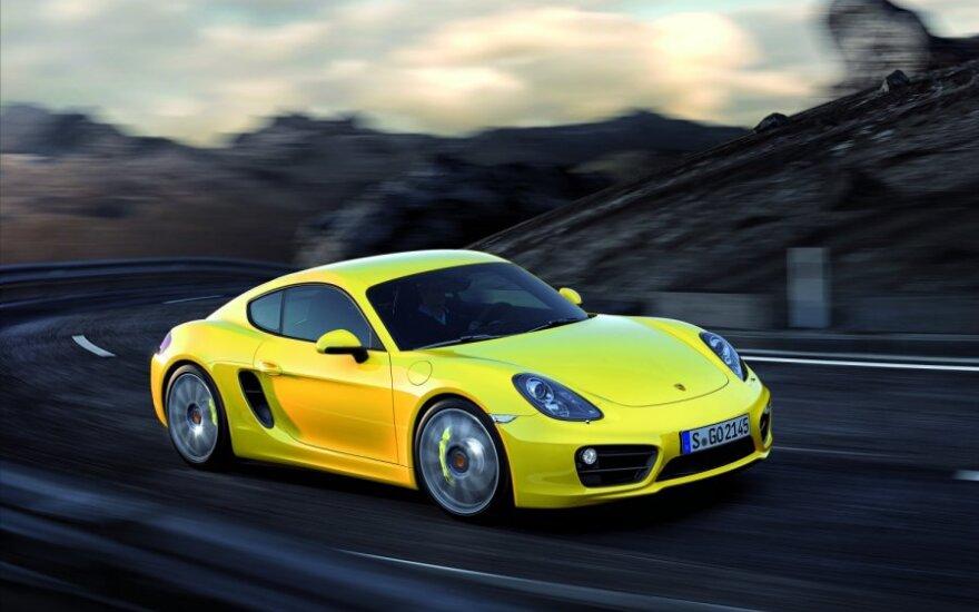 """""""Porsche"""" atnaujintiems """"Boxster"""" ir """"Cayman"""" suteiks naujus pavadinimus"""