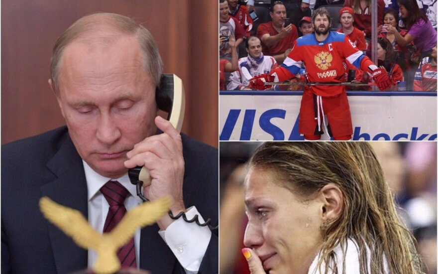 Vladimiras Putinas, Aleksandras Ovečkinas, Julija Jefimova